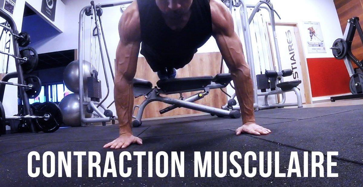 ? La contraction musculaire, l'outil le plus puissant de la séance.