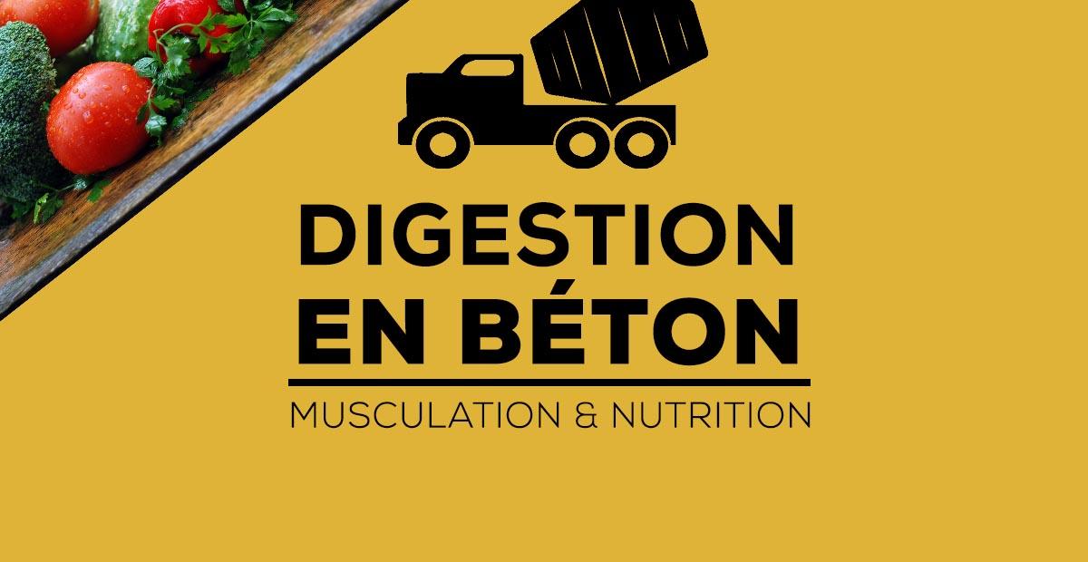 digestion béton