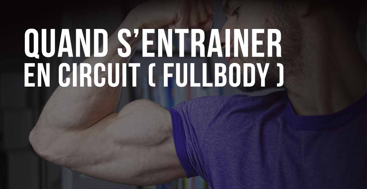 entrainement circuit musculation