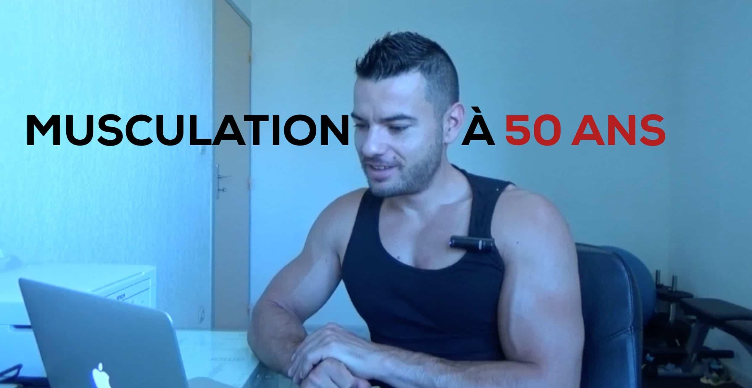 ?Musculation à 50 ans