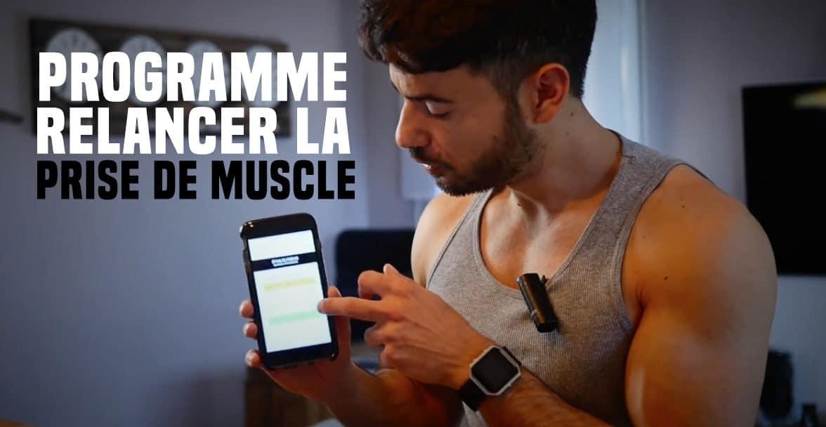 ?Programme relance : relancer la prise de muscle après un arrêt