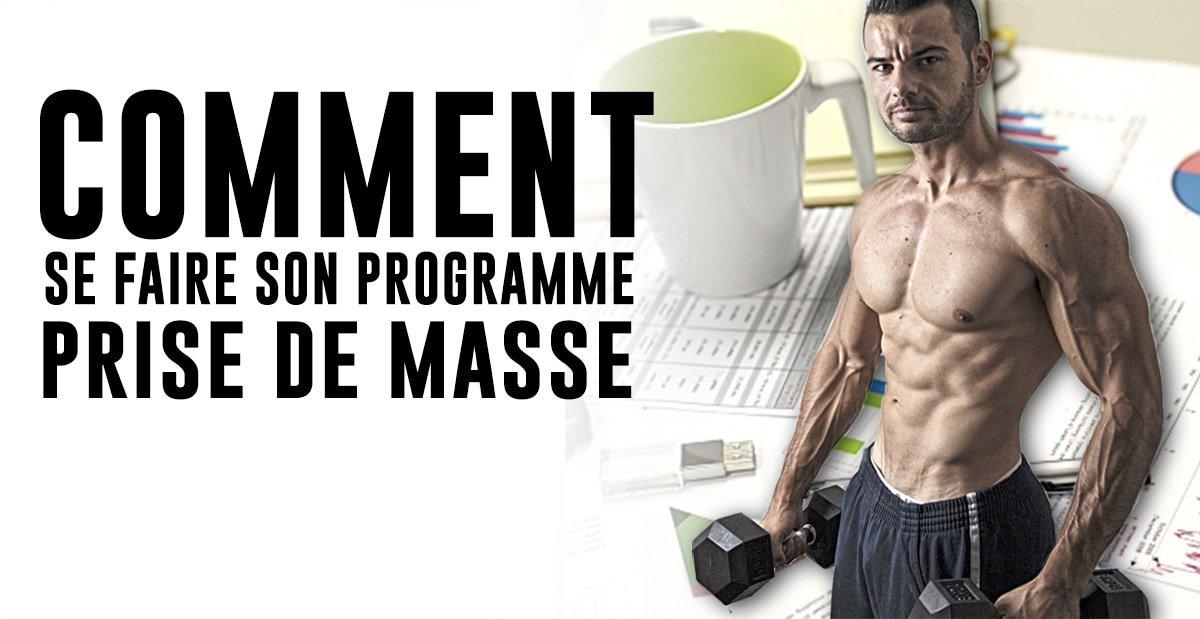? Prise de masse Musculation, Programme complet et Formation