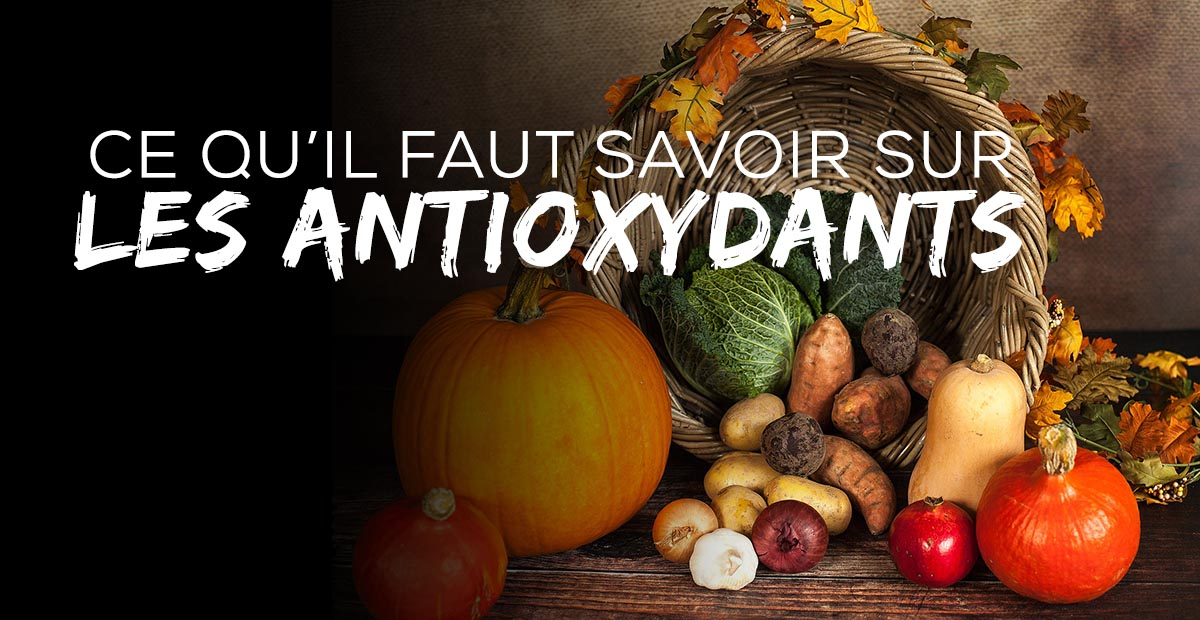 ?Antioxydants : Le sportif doit faire attention