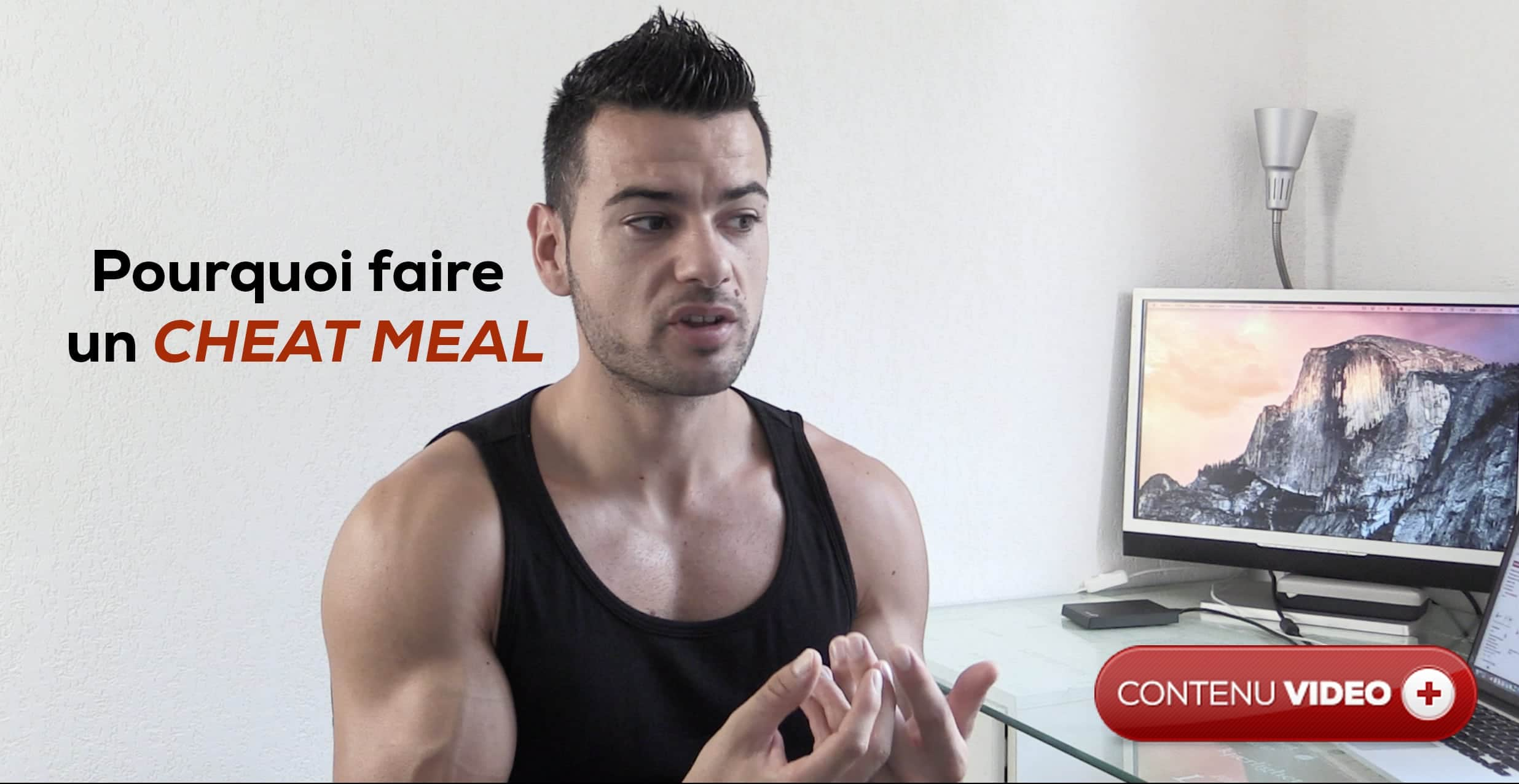 cheat meal musculation