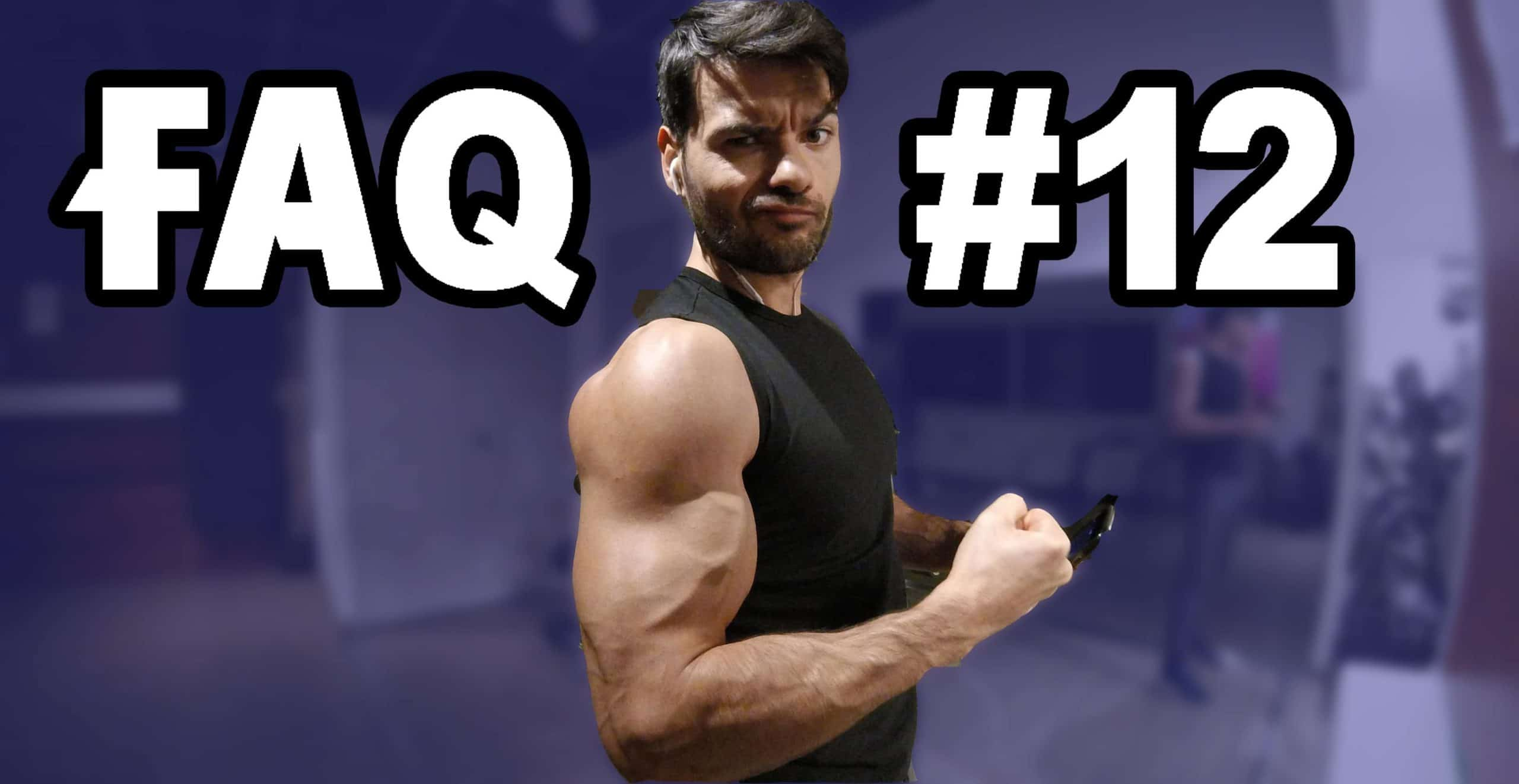 ?FAQ 12 : Pectus excavatum, Stress et progression, dopage vs naturel, addiction et solution…