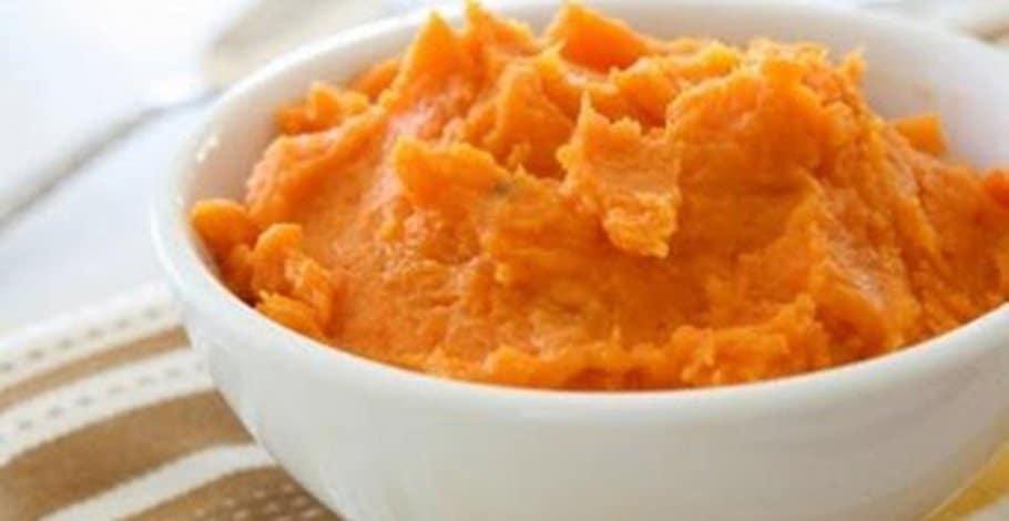 Recette diététique , poulet à la crème de carotte