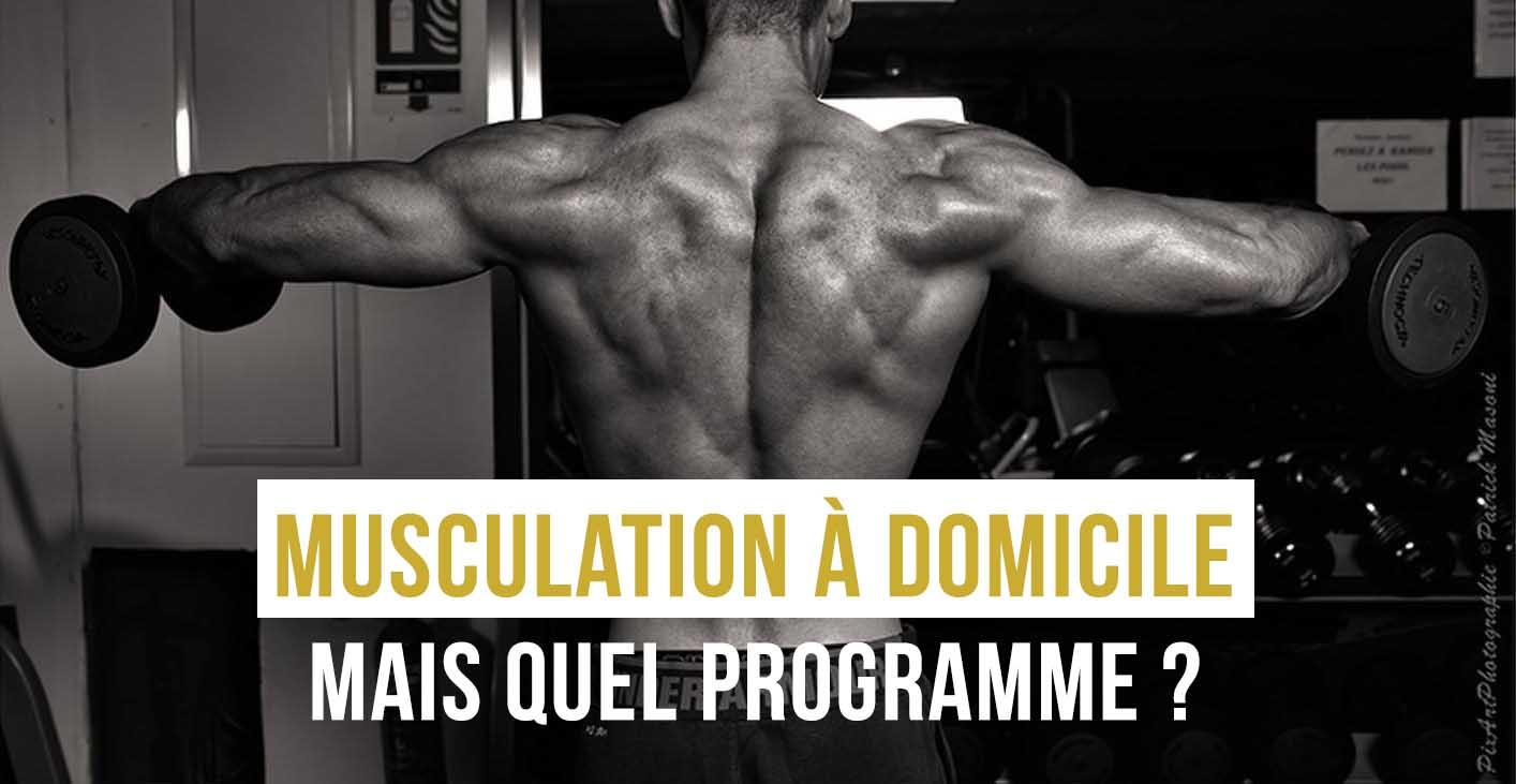 musculation à domicle