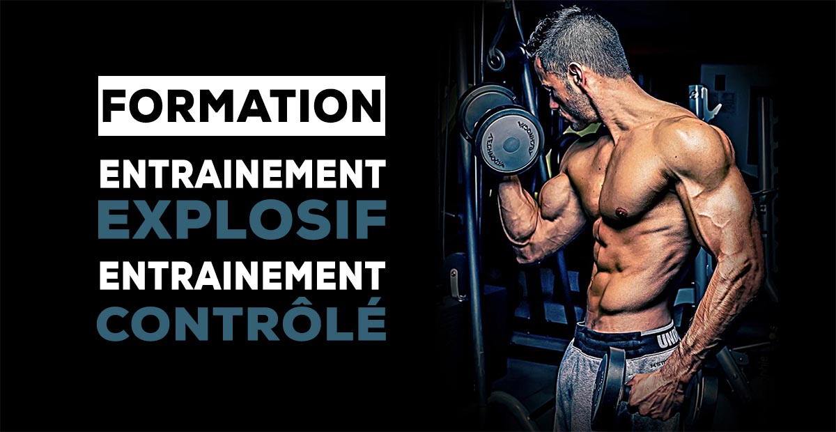 entrainement explosif musculation