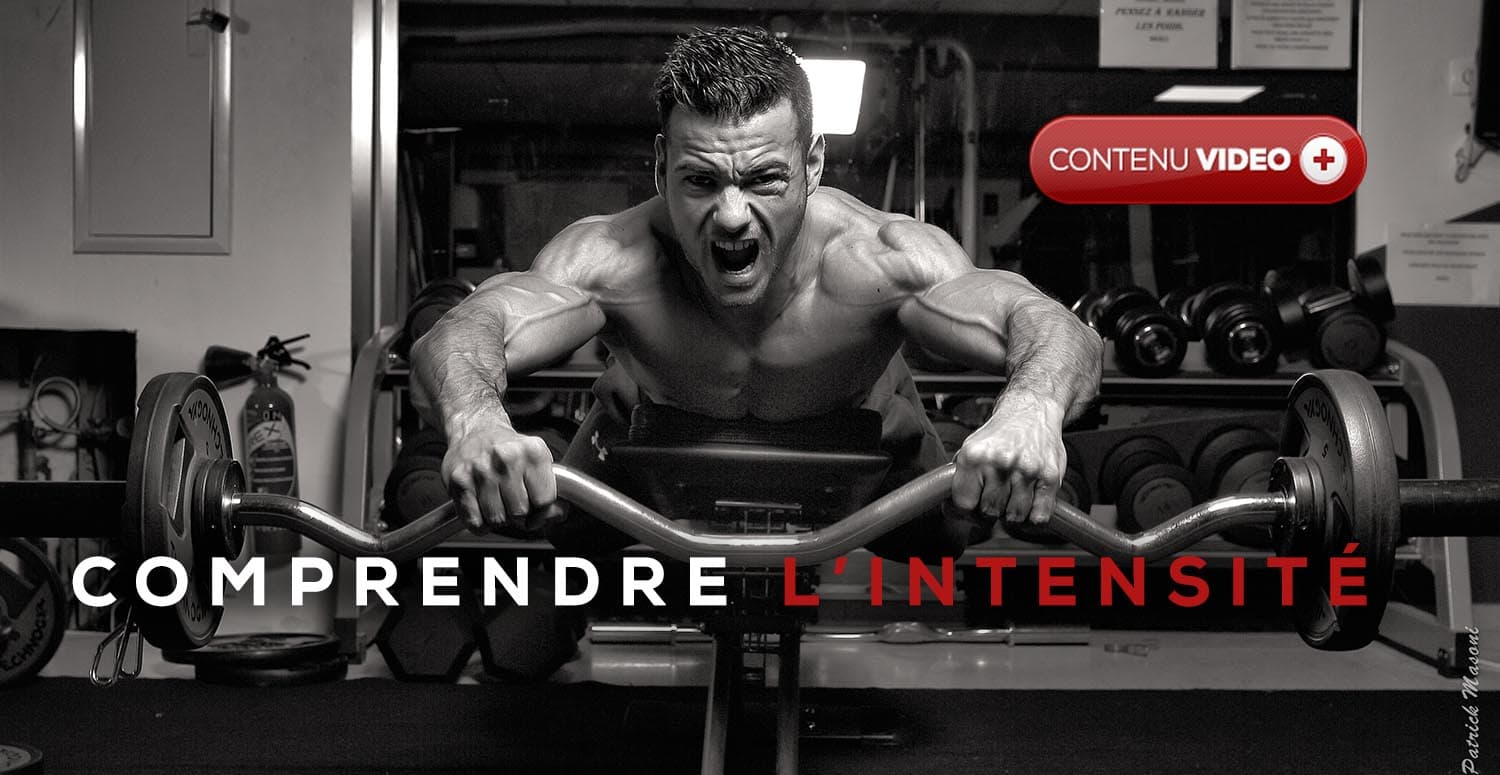 l'intensité en musculation