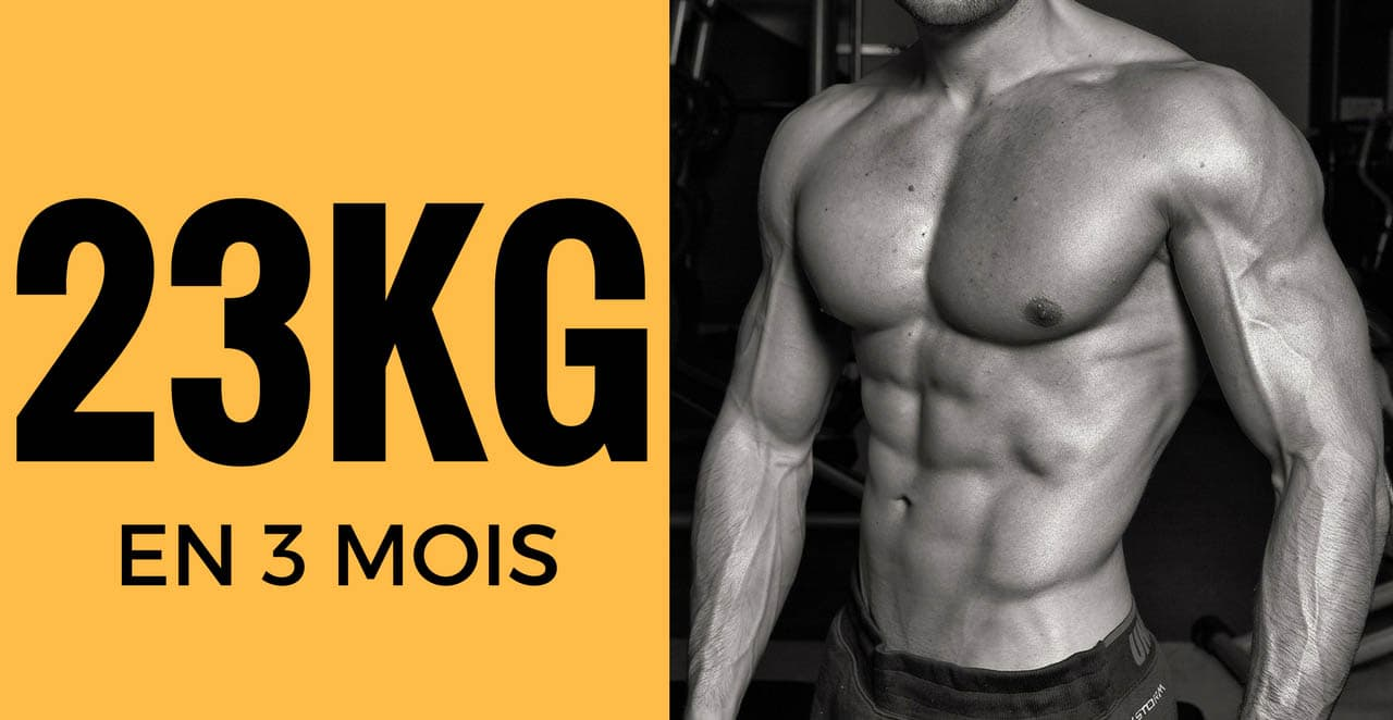 Comment perdre 23kg en 3 mois – Formation