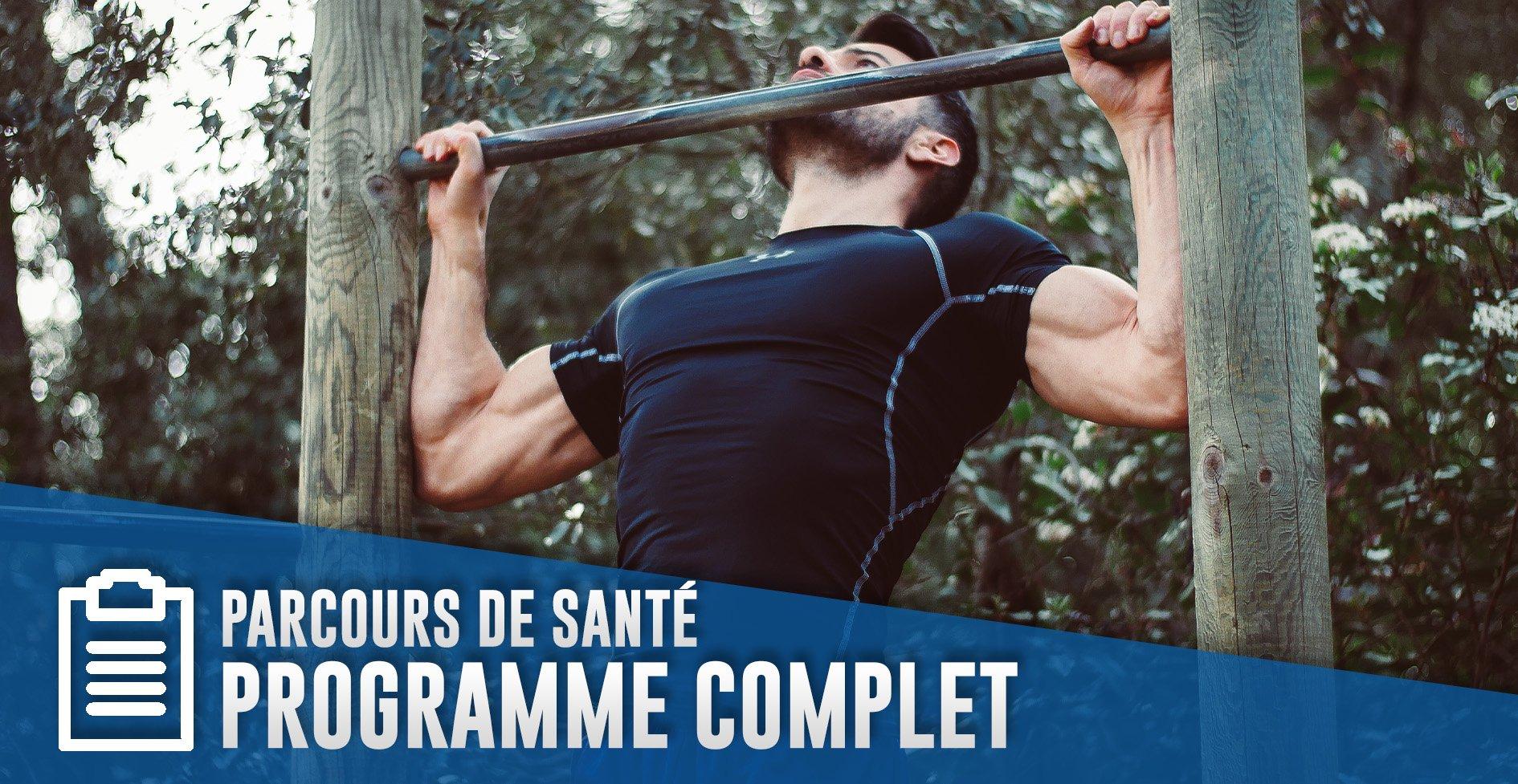 Programme musculation : un parcours de santépour se muscler