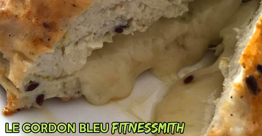 Recette fitness : cordon bleu fondant pour régime sans glucide