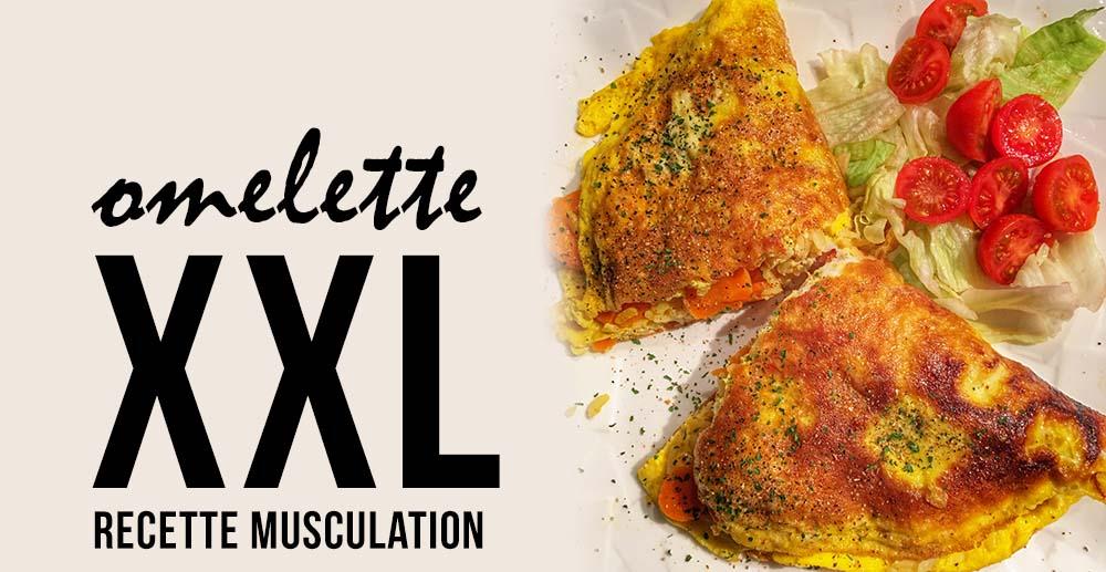 Recette musculation : omelette pas chère pour un repas complet