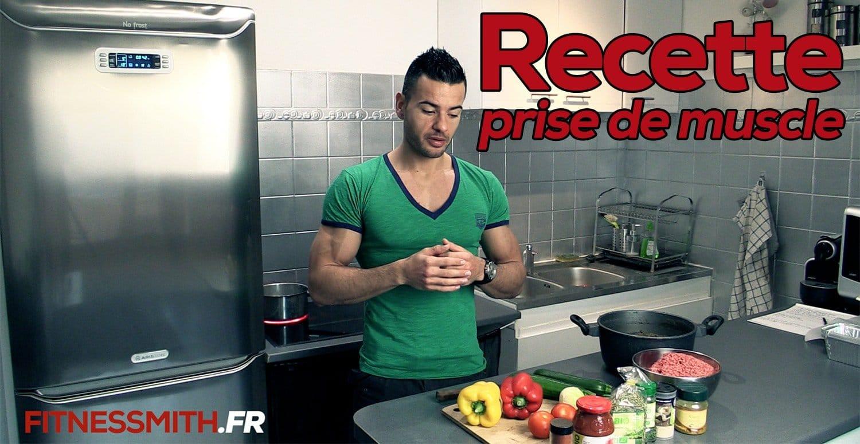 recette prise de masse