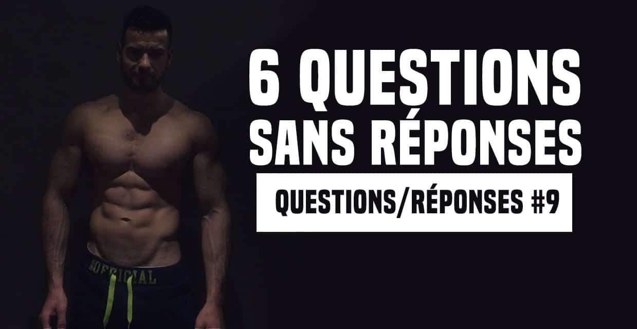 FAQ n°9 : rebond glucidique, timing des repas, prendre du muscle après un arrêt…
