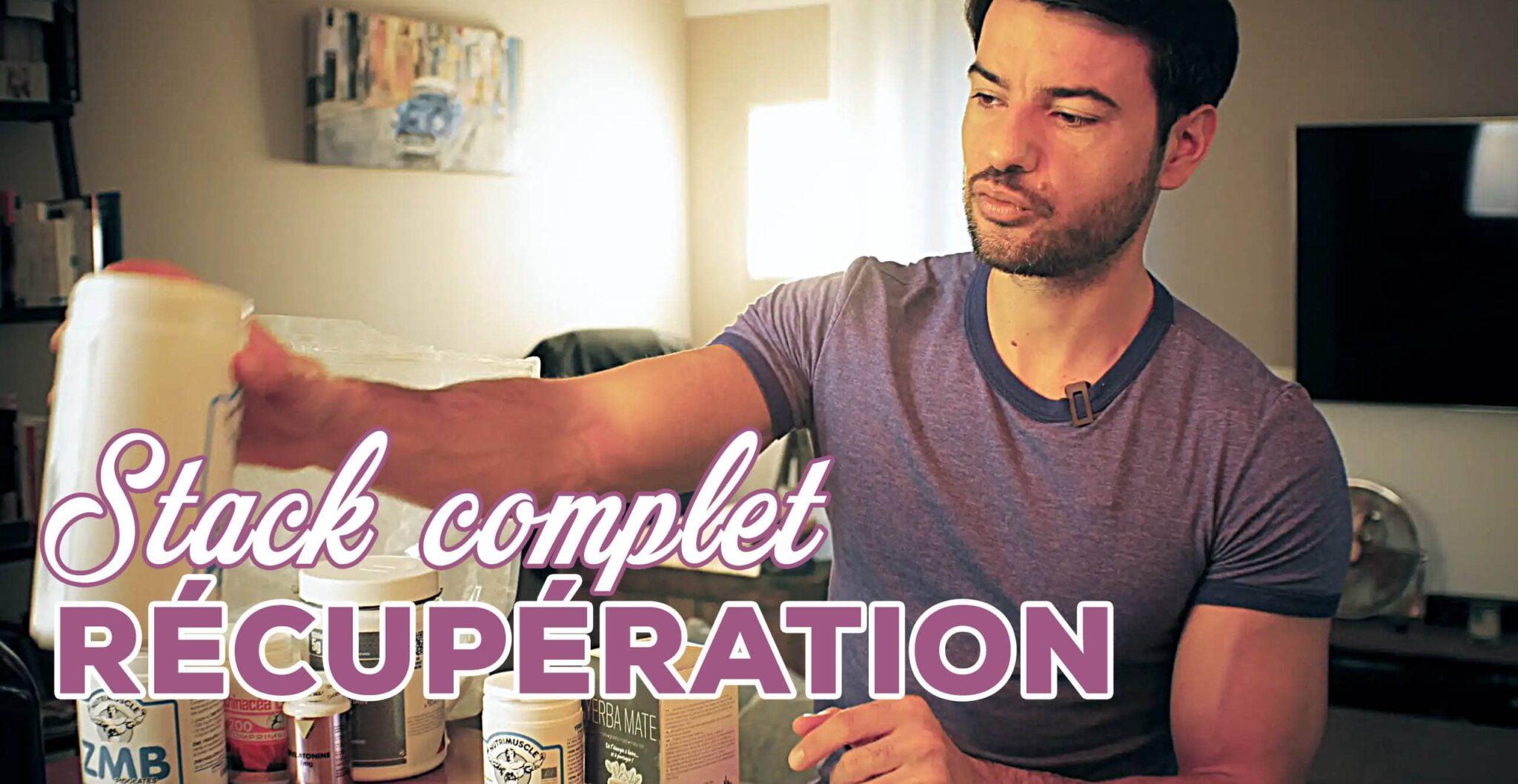 recuperation musculation